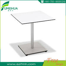 waterproof square or round dining table for