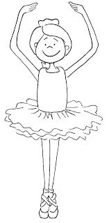 Ballet Dancer Coloring Pages Erdesvan Info