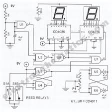 digital bike tachometer circuit circuit wiring diagram must know electronic bicycle diy tachometer circuit diagram digital