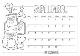 Calendario Infantil 2016 Para Imprimir Y Colorear Dibujos Net