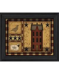 trendy decor 4u primitive shadowbox by carrie knoff printed wall art ready on primitive framed wall art with amazing deal on trendy decor 4u primitive shadowbox by carrie