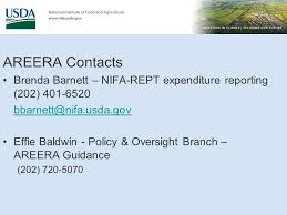 Agricultural Research, Extension and Education Reform Act (AREERA) Program  and Administrative Update May 25, ppt download
