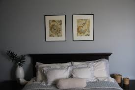 Painting For A Bedroom Bedroom With White Solid Wall Combined With Brick Wall On The