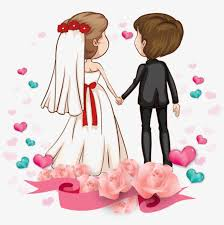 Wedding Couple Clipart Free Download Wedding Couple Cartoon Png