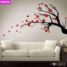 cherry blossom tree wall art