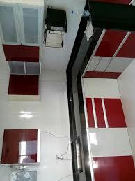Modular Kitchen Handle Design L Shaped Modular Kitchen Semi Tall Unit Wall Cabinets