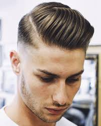 20 side part s back cool haircut for men