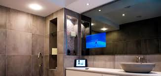 Vanity Mirror Television By TechVision Page - Tv for bathrooms
