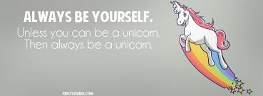 always be a unicorn cover