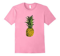 T Shirt With Pineapple Design Pineapple Tshirt Cool Vintage Pineapple Design Pl