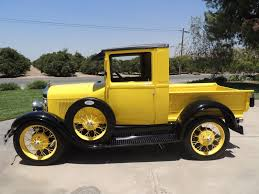1928 ford model aa pickup truck fully restored