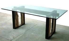 diy glass table base ideas gorgeous lovely glass table base table base for glass top tremendous