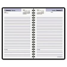 Daily Appointment Book 2015 Dayminder Daily Appointment Book 2015 Wirebound 4 88 X 8 Inch