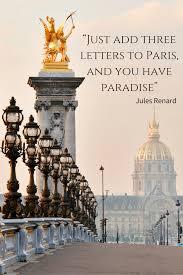 Famous Quotes About Paris