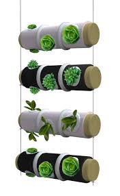 Small Picture Hanging Kitchen Herb Garden Doubles as Light Fixture Urban Gardens