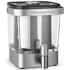 Kitchenaid Coffee Maker Clean Light Stays On Kitchenaid 38 Oz Brushed Stainless Steel Cold Brew Xl Coffee Maker Kcm5912sx