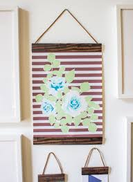 make your own hanging frames by going home to roost 3