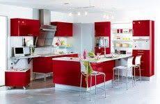 Cuisine Moderne Rouge Et Gris 1 Projets à Essayer Cuisine
