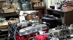 496 Big Block Chevy Test Stand - YouTube