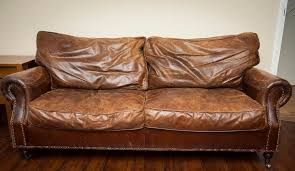 vintage leather furniture couch and sofa set with regard to old leather sofa