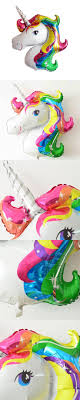 Large Unicorn Foil Balloons Animal Helium Balloon Inflatable Classic Toys  Birthday Party Decoration Unicorn Party Supplies
