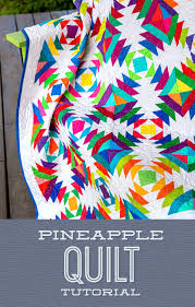 Learn to make a Pineapple Quilt with Jenny! &  Adamdwight.com