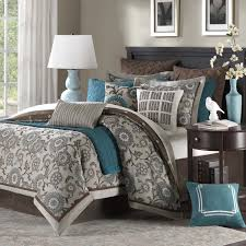 teal and brown bedding camouflage browning sets today image on excelent blue for blue and brown
