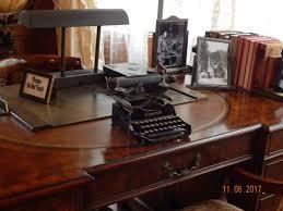 descanso gardens mr boddy s desk with typewriter
