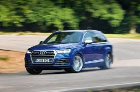 ... Audi SQ7 Cornering  Autocar