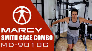 The Marcy Md 9010g Smith Cage Combo
