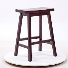 home bar furniture modern. solid hard wood bar stool chair saddle seat indoor home furniture modern cafe wooden tall a