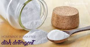 all natural homemade dishwasher detergent without borax and desiccant