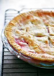 strawberry rhubarb pie the gunny sack