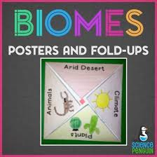 Science Project Chart Work Biomes Biomes Biomes Posters And Fold Ups