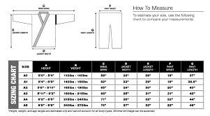 Venum Shorts Size Chart The Best Bjj Gi For Beginners Guide The Mma Guru