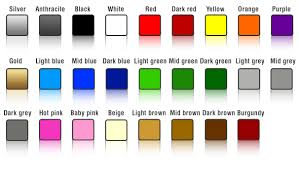Colour Swatches Street Race Org High Quality Car