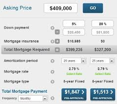 Calculate A Mortgage Loan Calculate The Mortgage Payment On An Average Home In Ontario