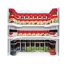 Edenware Spice Rack And Stackable Shelf