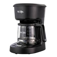 But making hot coffee anytime is not easy, but with this mini coffee maker now, you can make coffee anytime. Mr Coffee 5 Cup Programmable Coffee Maker 25 Oz Mini Brew Brew Now Or Later Black Walmart Com Walmart Com