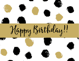 Black And White Birthday Cards Printable Free Printable Happy Birthday Cards Happy Birthday Cards