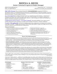 Agile Project Manager Resume The Best Resume