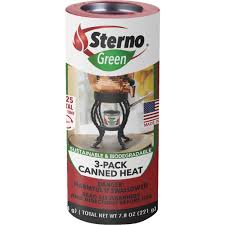 How To Light Sterno Cans Sterno Canned Heat Gel Cooking Fuel 11 78 Picclick