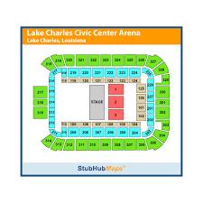 Lake Charles Civic Center Arena Seating Chart Lake Charles Civic Center Events And Concerts In Lake