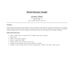 Dentist Resume Beauteous Dental Resume Template Pediatric Dentist Free Dental Cv Template