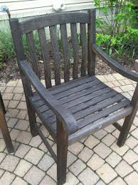 deck what is the best way to restore teak outdoor furniture