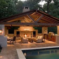 outdoor kitchen designs. dream outdoor eating option (but have different chairs) | new house pinterest backyard, patios and living kitchen designs