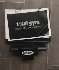 Total Gym Exercise Flip Chart Holder Mounting Base For 1700