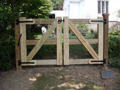 how to make a gate for a wire fence Google Search yard