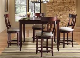 high dining room chairs our wood high dining sets e in the table size wood color