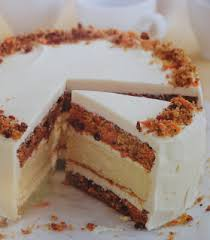 Blog As You Bake Juniors Carrot Cake With A Cheesecake Center And